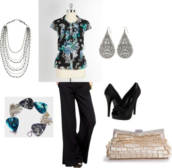 Snazzy Worky Work, created by crcourtney on Polyvore