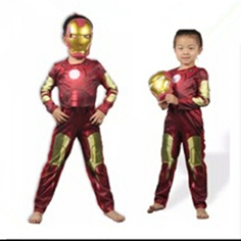 Hot Sale Iron Man cosplay 3 Iron Patriot Muscle Child Superhero Halloween Costume Kids Fantasy fancy dress Carnival party //Price $US $18.99 u0026 FREE ...  sc 1 st  Pinterest & Hot Sale Iron Man cosplay 3 Iron Patriot Muscle Child Superhero ...
