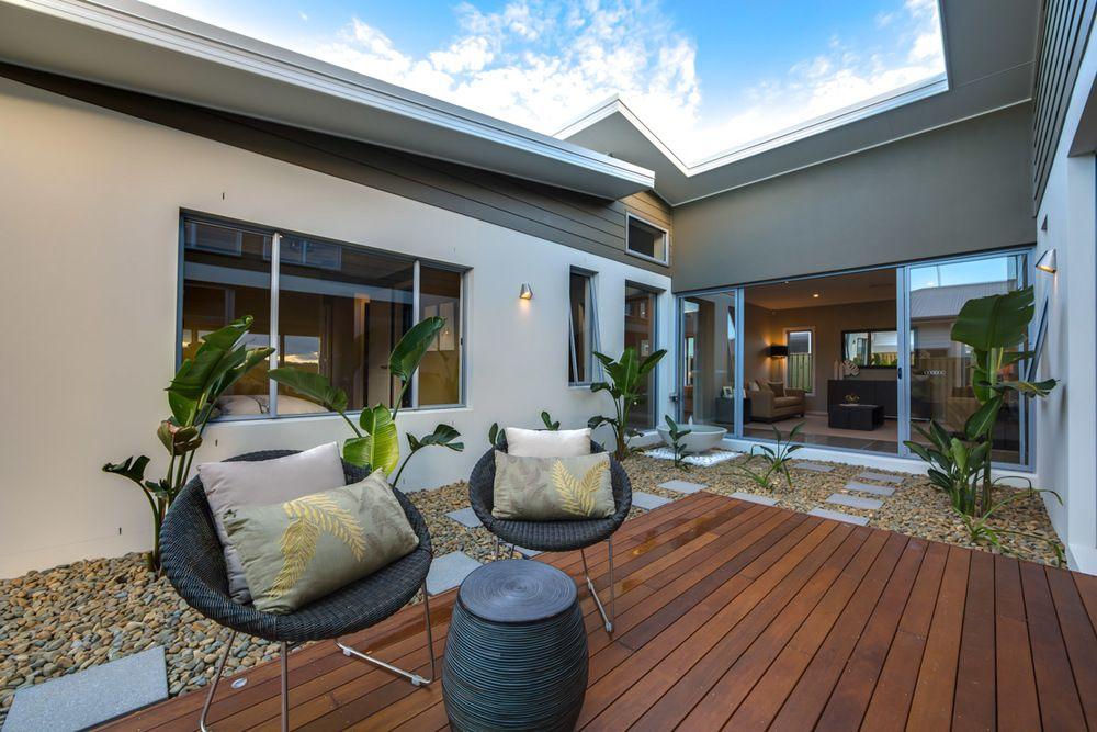 Colorbond surfmist woodland grey dulux brown fig - House colours exterior australia ...