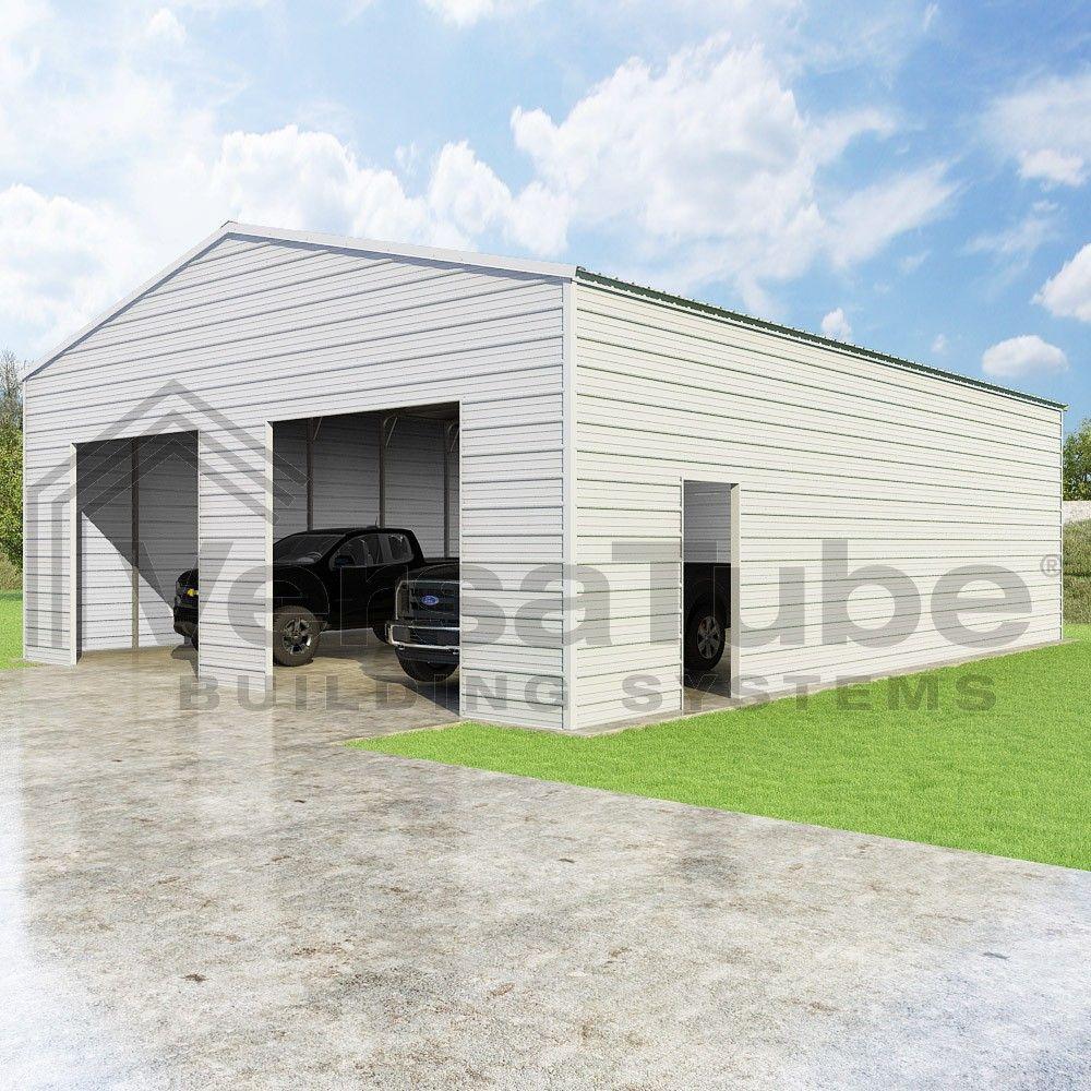 Frontier Garage 30 X 40 X 12 Garage Or Building Building Kits Building A Garage Shed Plans Garage