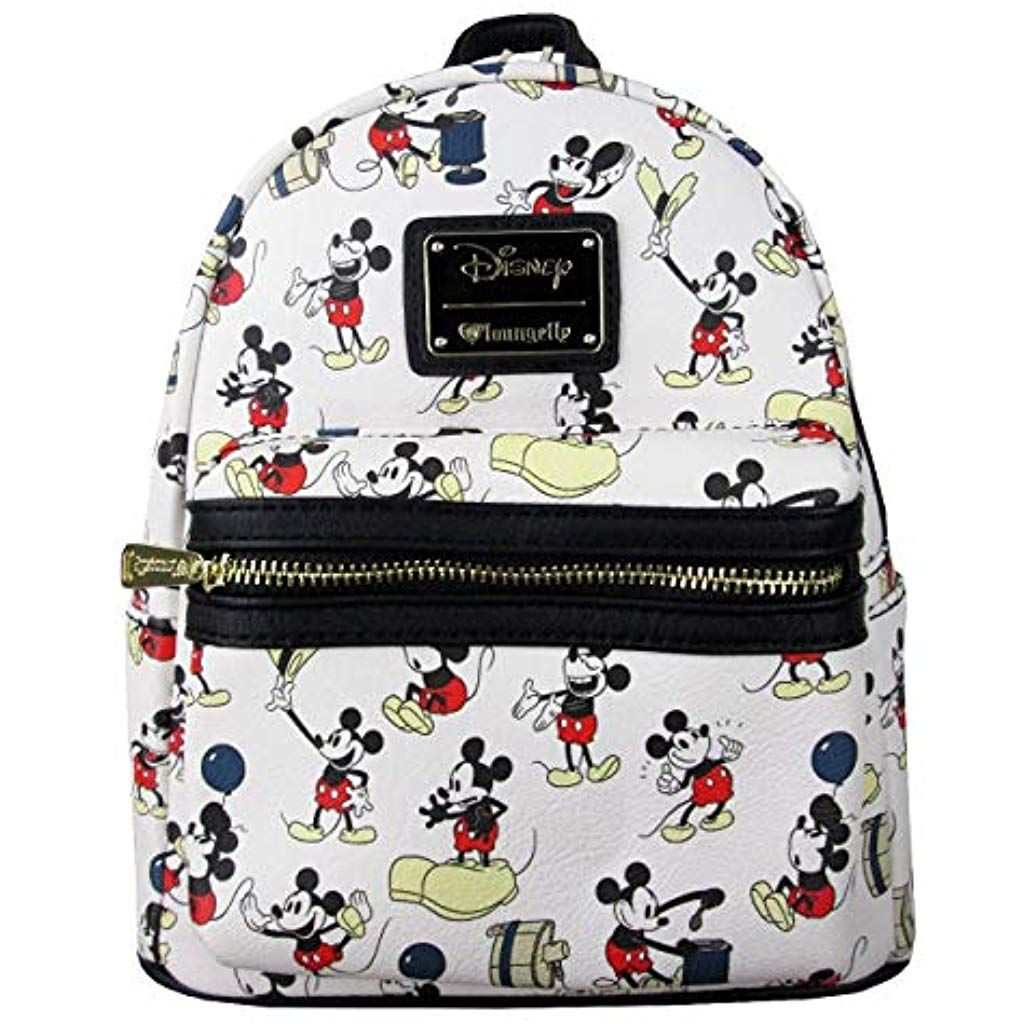 x Mickey Mouse Poses All-Over Print Mini Backpack  backpacks  backpacksmod   backpacks2018 0585a03757c7d