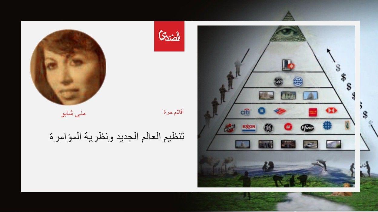 تنظيم العالم الجديد ونظرية المؤامرة الصدى نت Photo Wall Photo Poster