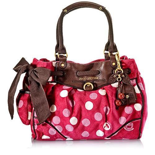 Juicy Couture I Love Dotty Daydreamer Bag...too cute! | *Clothes ...