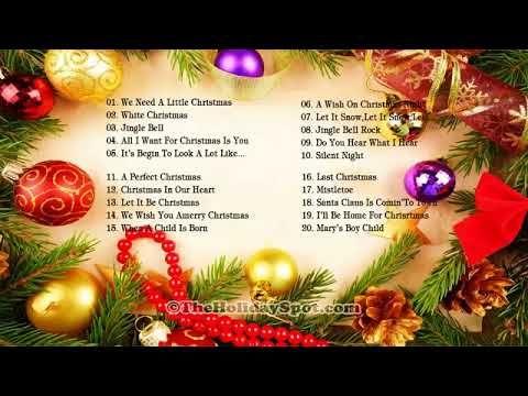2019 Christmas Music.Compilation Des Plus Belles Chansons De Noel Musiques De
