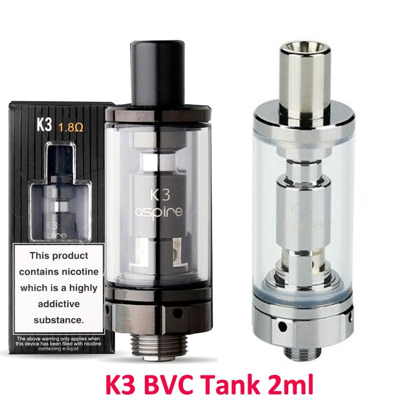 Aspire K3 Bvc Tank 2ml Aspire Tank Installation