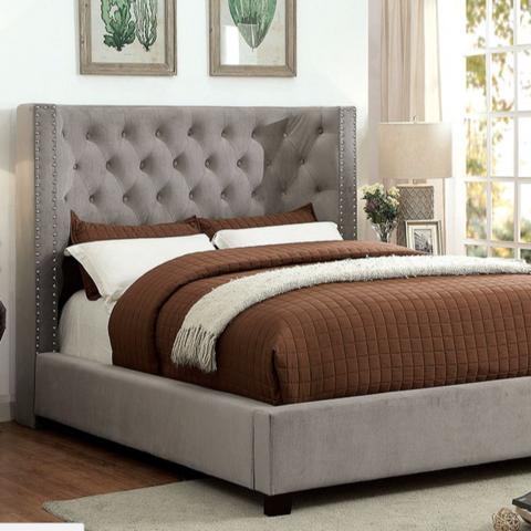 Masoni Upholstered High Profile Bed Upholstered Platform Bed
