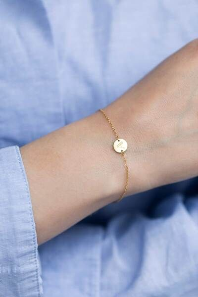 Oh Bracelet Berlin Armband »Initial Letter« | Inklusive Umweltfreundlicher Geschenkbox