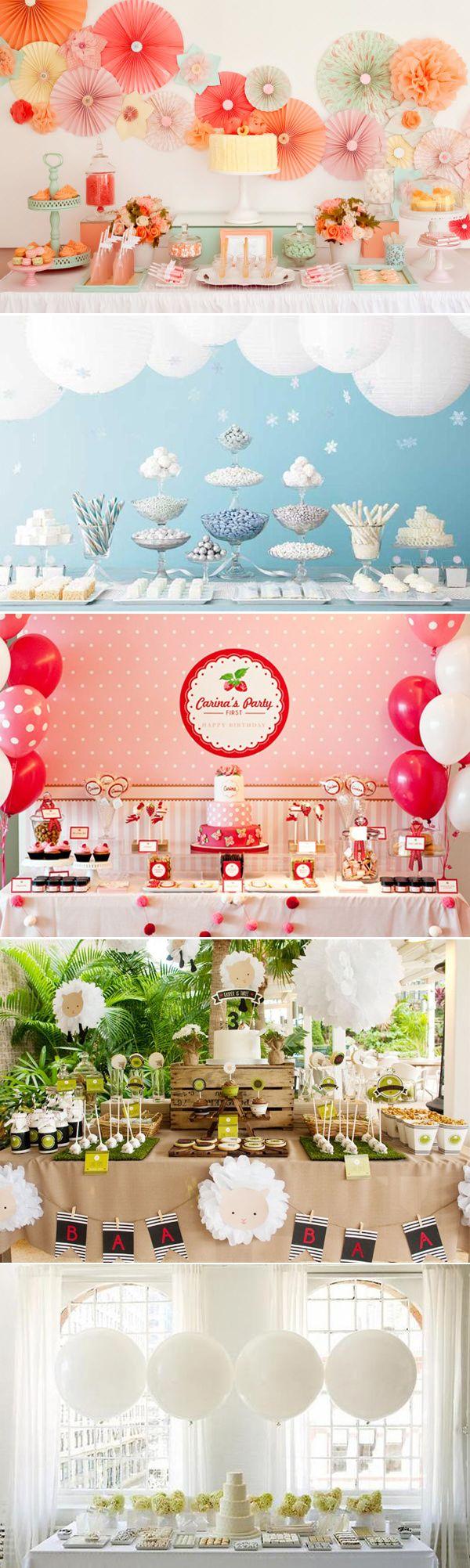22 Lovely Dessert Table Designs - Amy Atlas