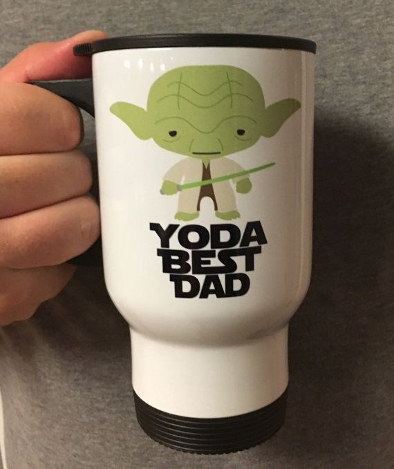 Embeemugs By EtsyFor Dad My Coffee Yoda Mug On Best Geek Travel 54jLA3Rq