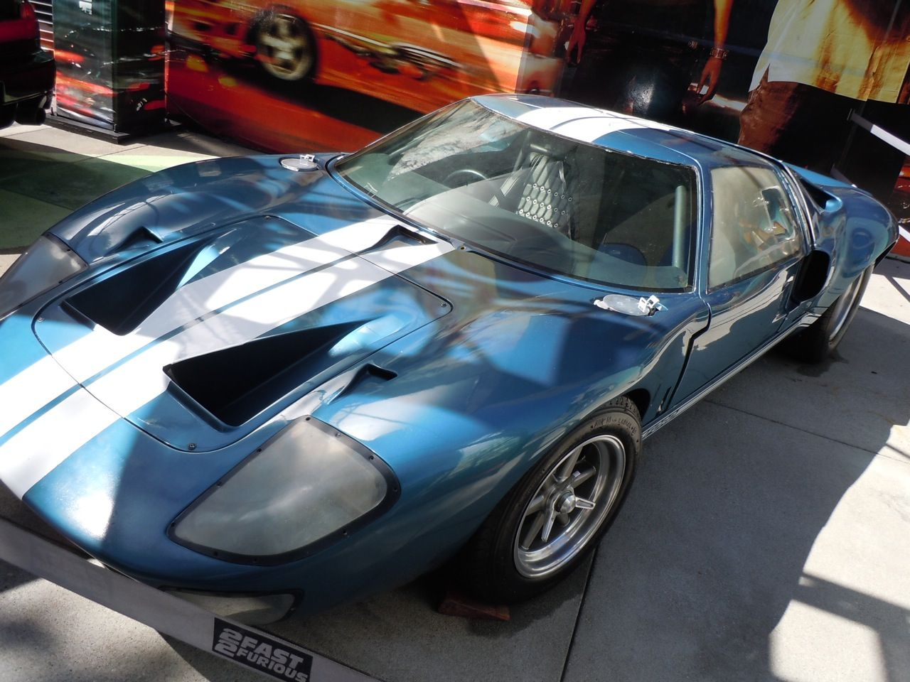 Ford Gt  Replica From Fast Five