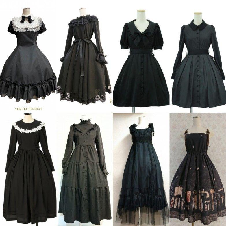 おすすめブラックカラー ワンピース紹介 ファッションアイデア ワンピース ドレス ファッション