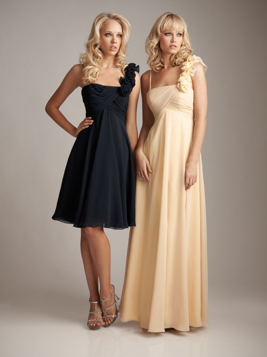 Possible for bridesmaids i like the shorter dress for a beach