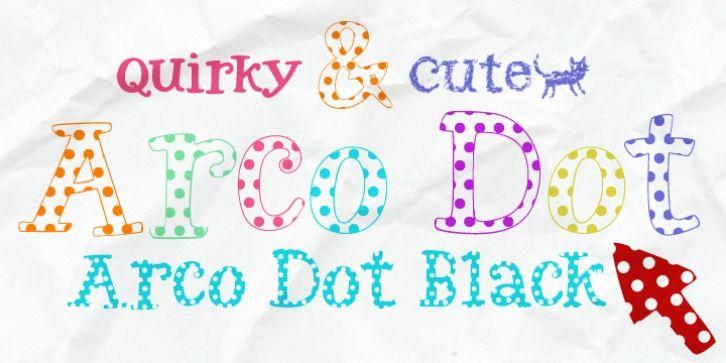 Arco Dot™ font download