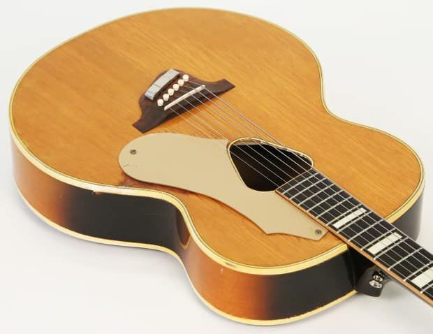 1954 Gretsch 125f Synchromatic Acoustic Guitar Restored By Scott Baxendale Plays Perfectly La Guitar Shop Reverb Guitar Acoustic Guitar Acoustic