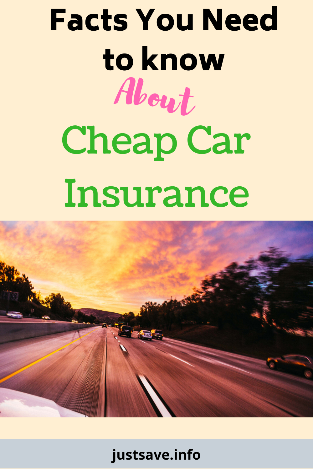 Facts You Need To Know About The Cheap Car Insurance Justsave In