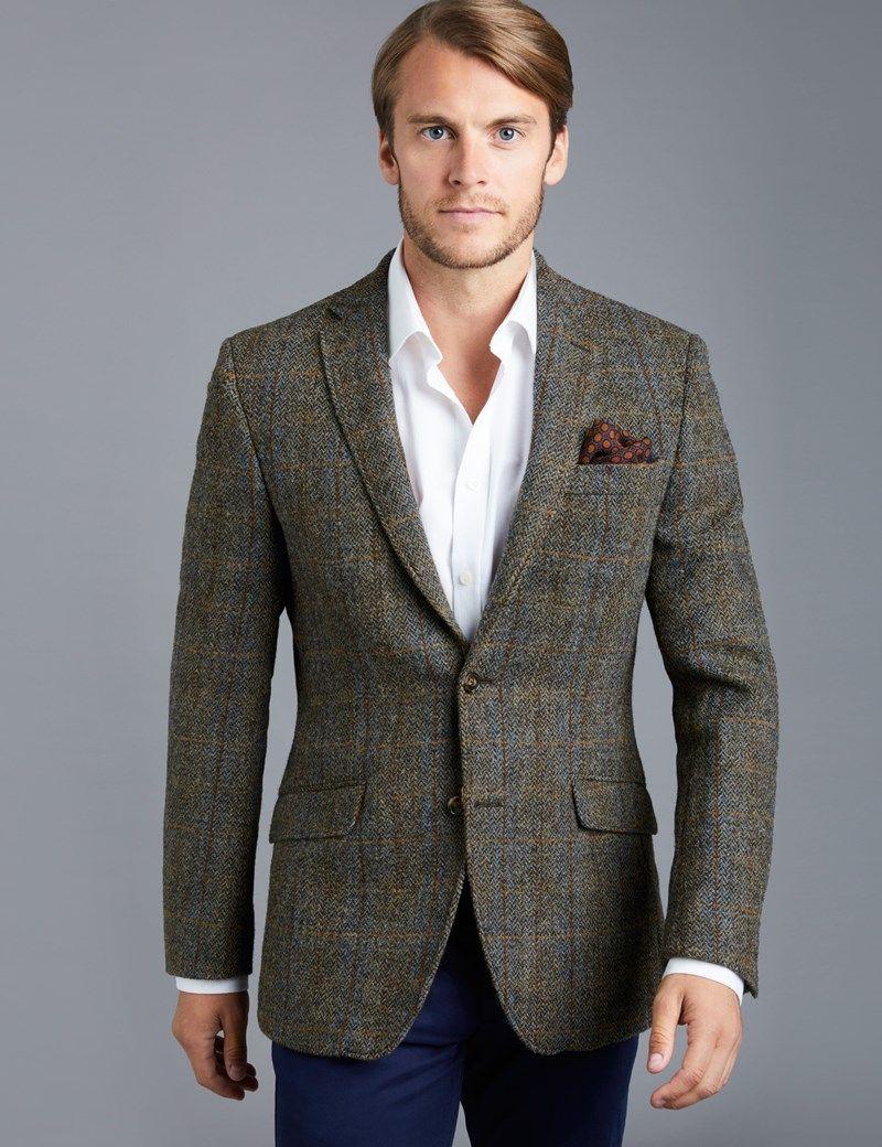 Harris Tweed Coats Mens