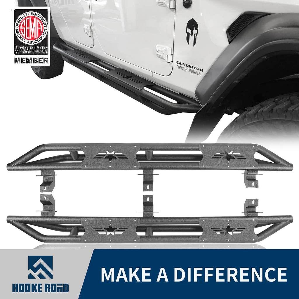 Hooke Road Star Side Step Tubular Running Bards 2020 Jeep
