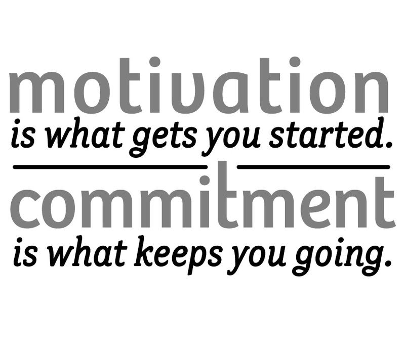 25 COMMITMENT QUOTES TO KEEP YOU GOING | Don't Believe This Pin