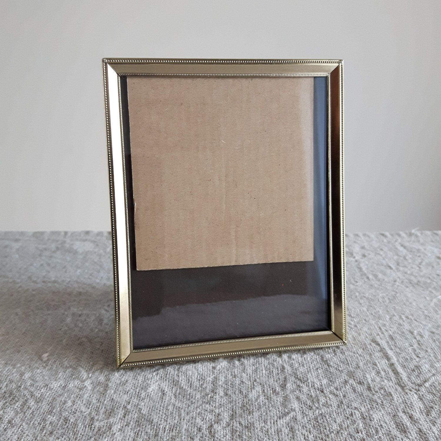 4 x 5 brass gold tone metal picture frame mid century 4 x 5 brass gold tone metal picture frame mid century jeuxipadfo Images