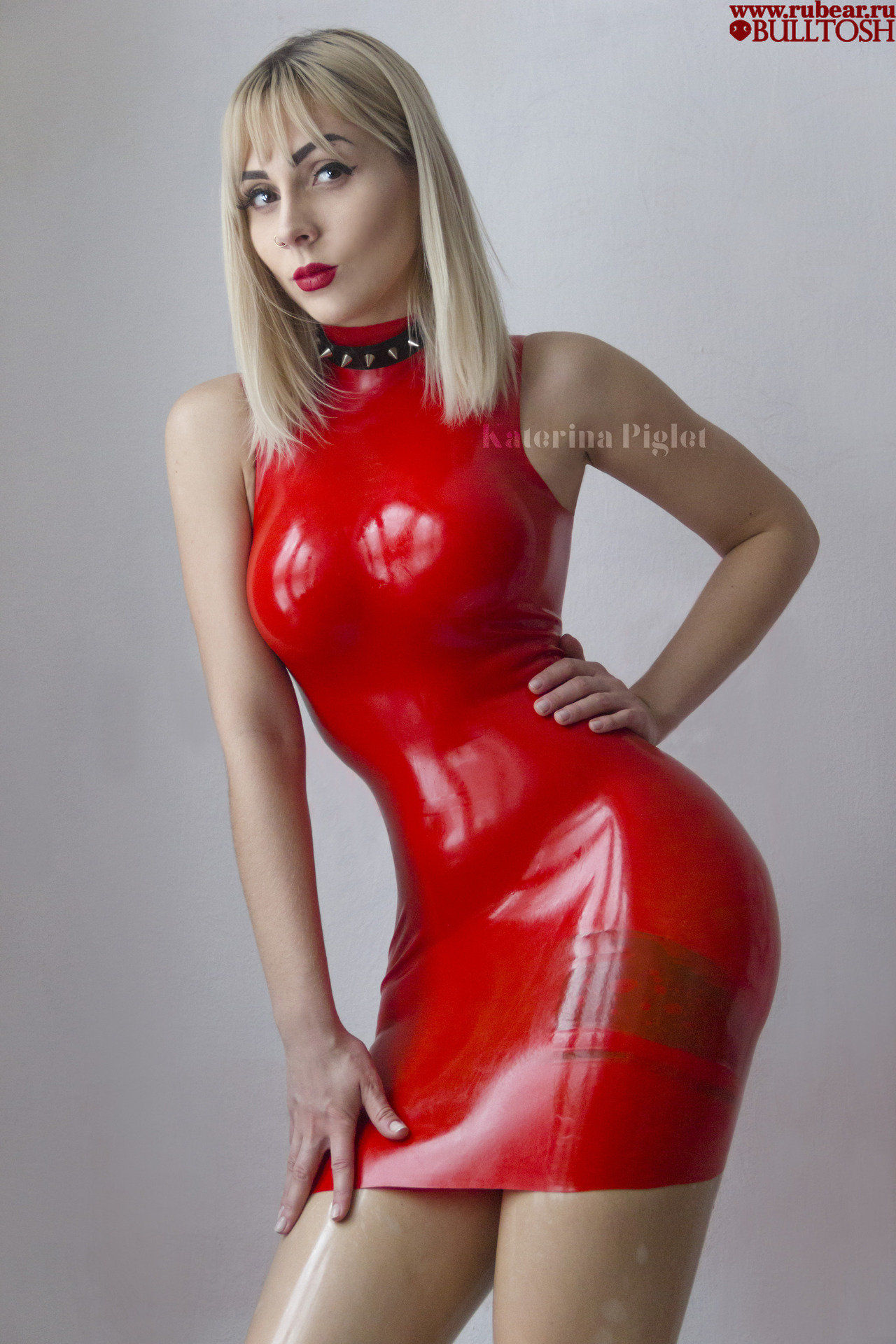 "98168d863cb1 k-piglet-latex: "" Collar and latex stockings by KINKSIDE Red latex Dress by  RUBEAR Follow Me: FACEBOOK INSTAGRAM YOUTUBE DEVIANTART Photo by bulltosh """