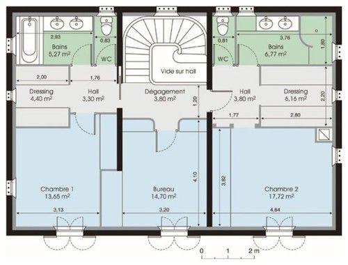 plan bastide maison plan de maison pinterest faire construire sa maison construire sa. Black Bedroom Furniture Sets. Home Design Ideas