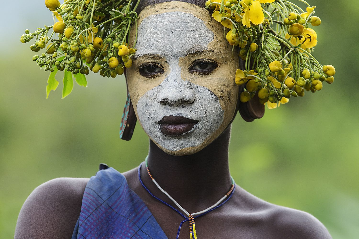 """French artist """"Pays Homage"""" to the beautiful hairstyles of Southern Ethiopian people (in blackface of course) - Page 8"""