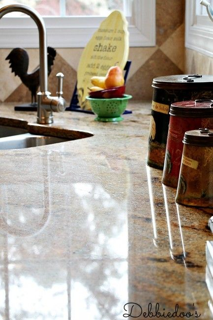 Marble Top Cleaners : How to clean granite countertops naturally counters