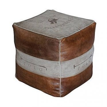 pouf cuir vintage polo new house pinterest indoor and house