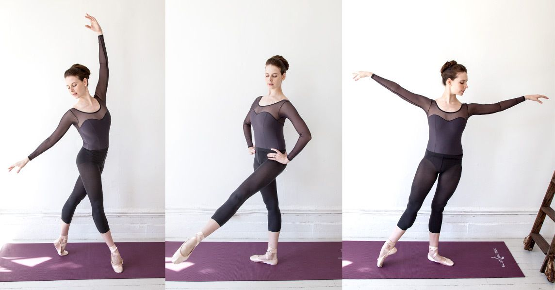 The key to a ballerinas physique? Workout moves that tone the small muscles surrounding the knees. Try these four effective moves.