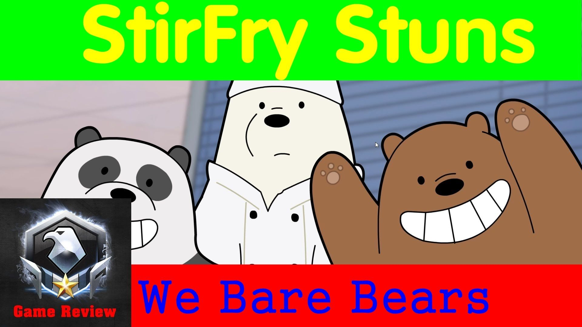 StirFry Stuns We Bare Bears How to play the game