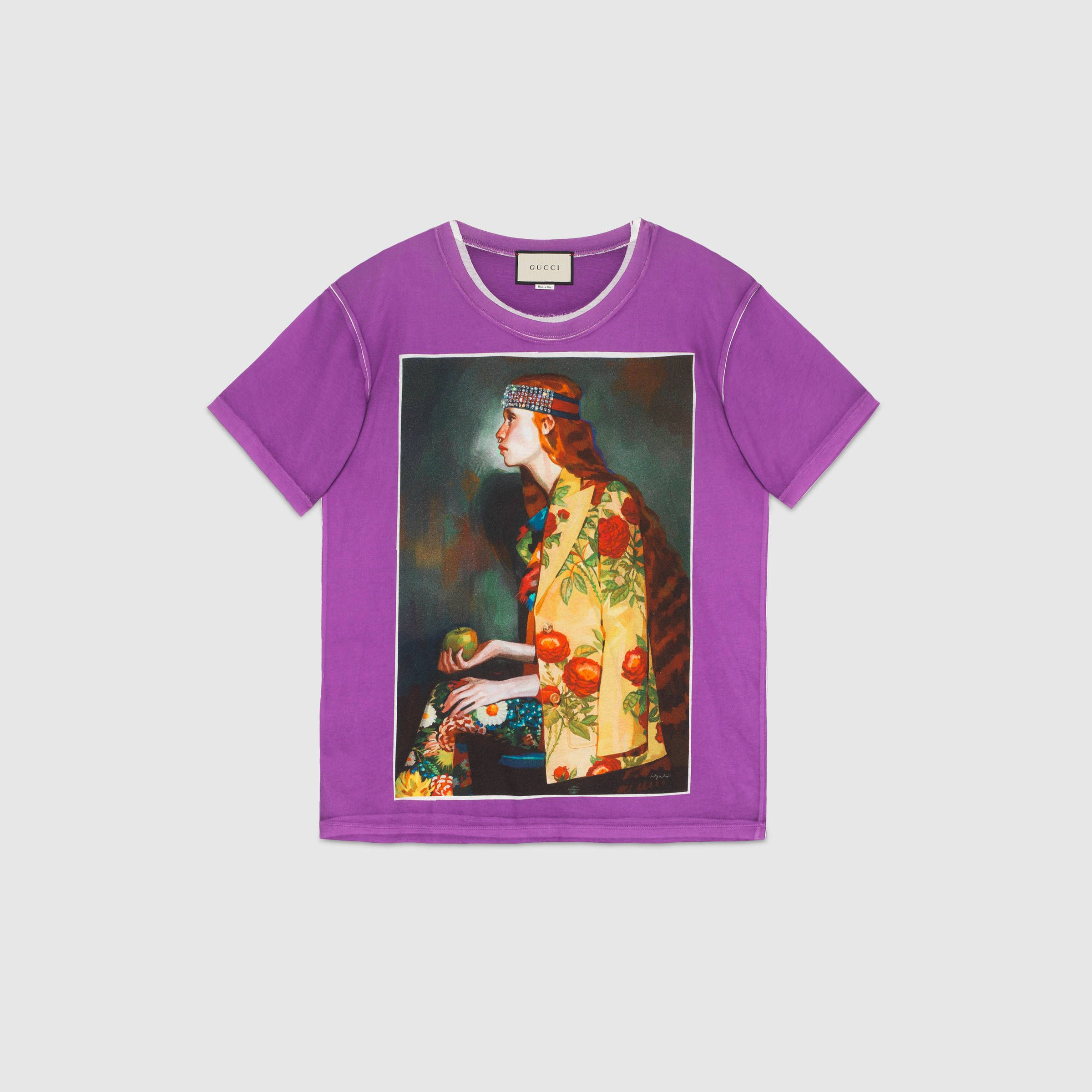 ad7aa2e13 Ignasi Monreal print T-shirt - Gucci Women's Ready to Wear 492347X3L905253