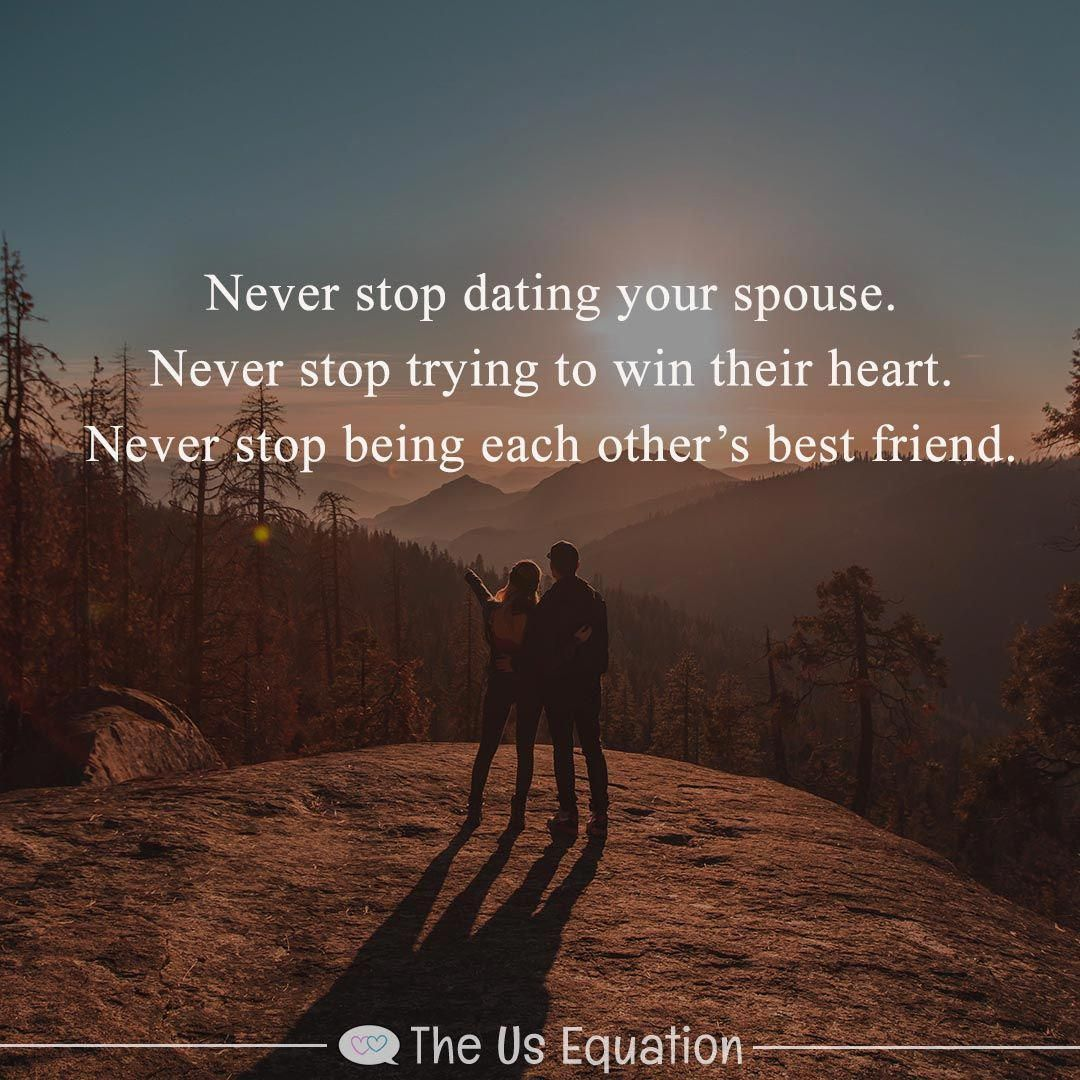 """#Dating Doesn't Stop When We Say """"I Do."""" Instead, It"""