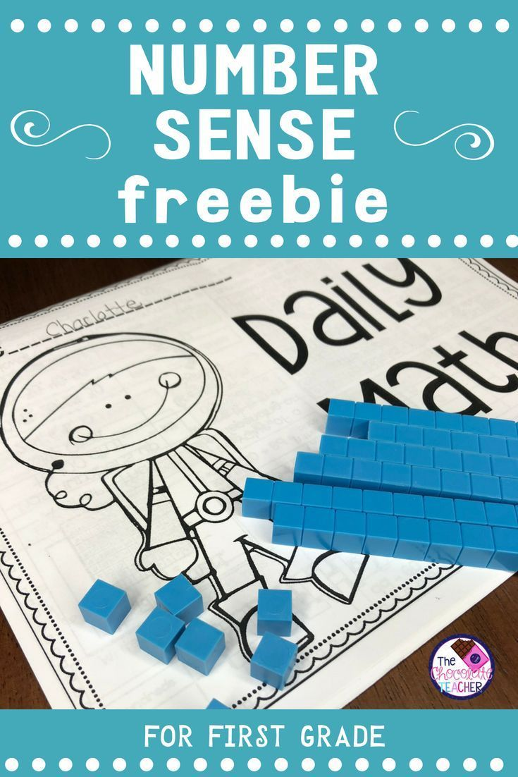 Number Sense For 1st Grade Number & Operations in Base 10 FREE | 1st ...