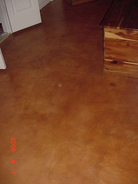 Stained Concrete For The Patio Concrete Stained Floors Stained