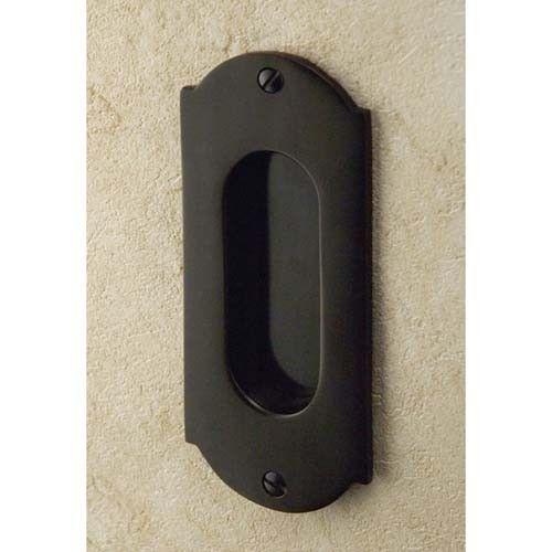 Old World Pocket Door Pull In 2 X 9 In Brushed Nickel Brass Signature Hardware Pocket Doors Pocket Door Pulls Pocket Door Handles