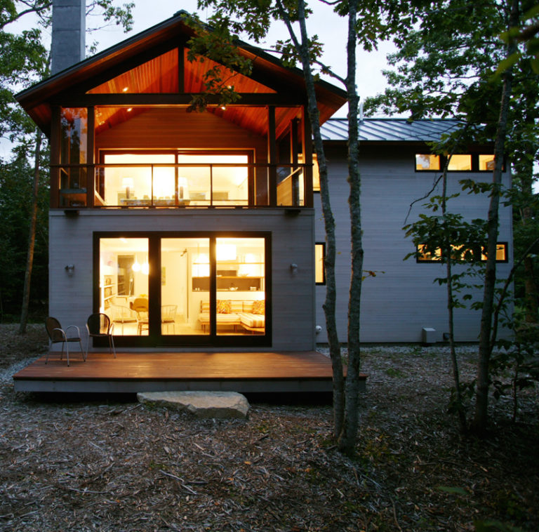 Modern House Peter D Entremont Architect With Images Modern House Maine Getaway House