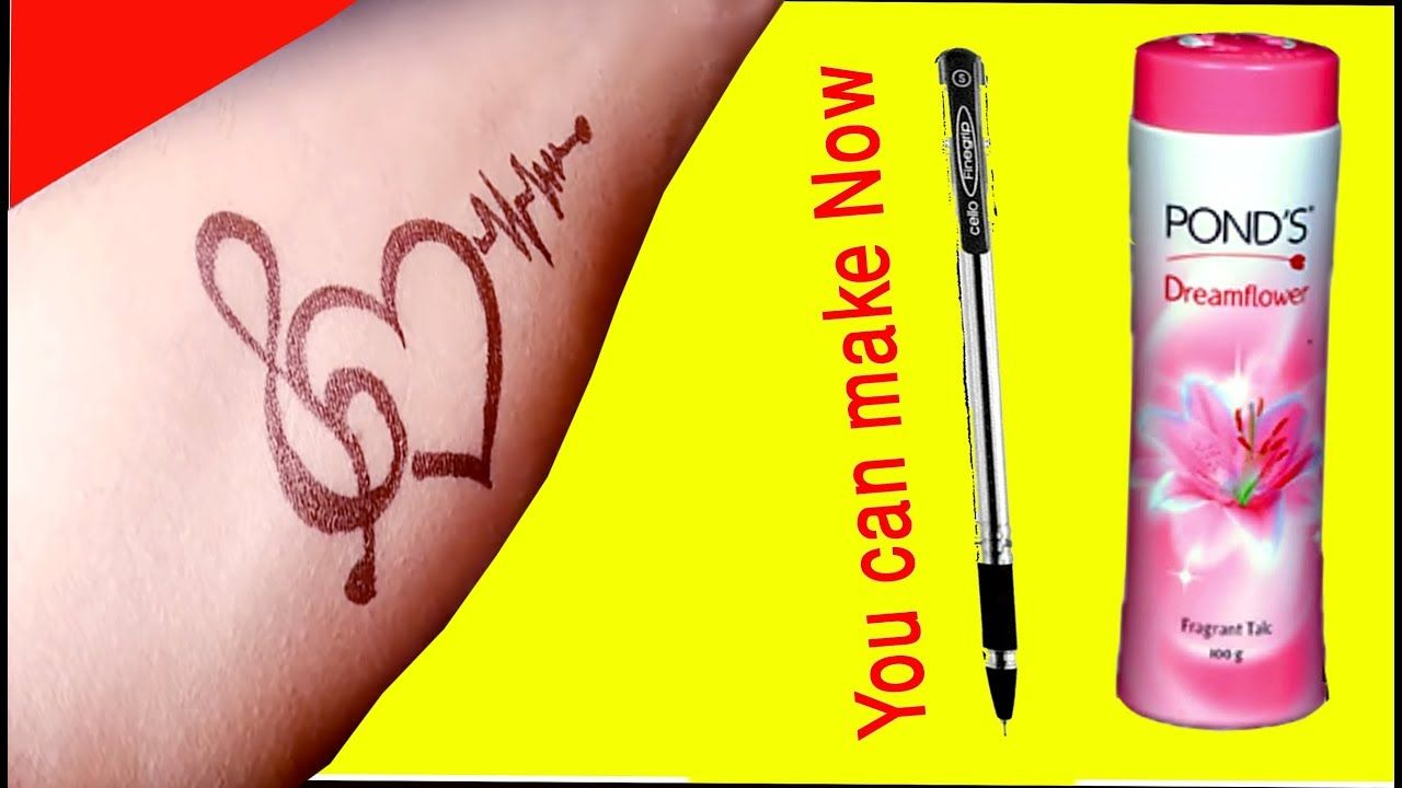 How To Make Permanent Tattoo At Home With Pen Toothpaste Diy Tatoo With Pen Pen Tat Pen Tattoo Tattoos Diy Temporary Tattoos