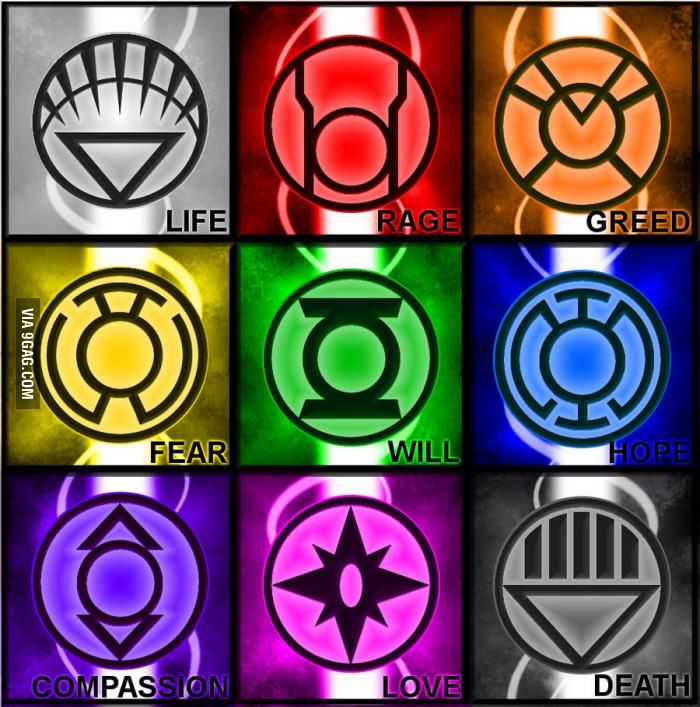 There Are Different Lanterns Other Than Green Pinterest Comic