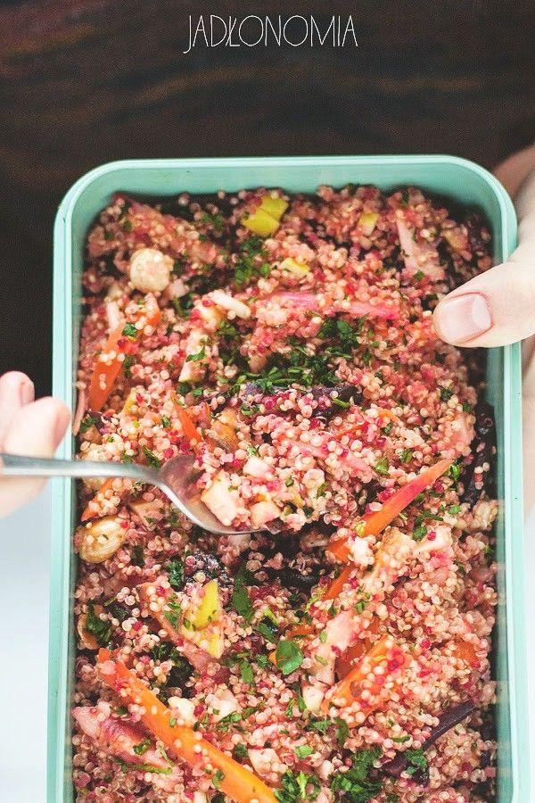 Zimowa sałatka z komosą ryżową » Jadłonomia