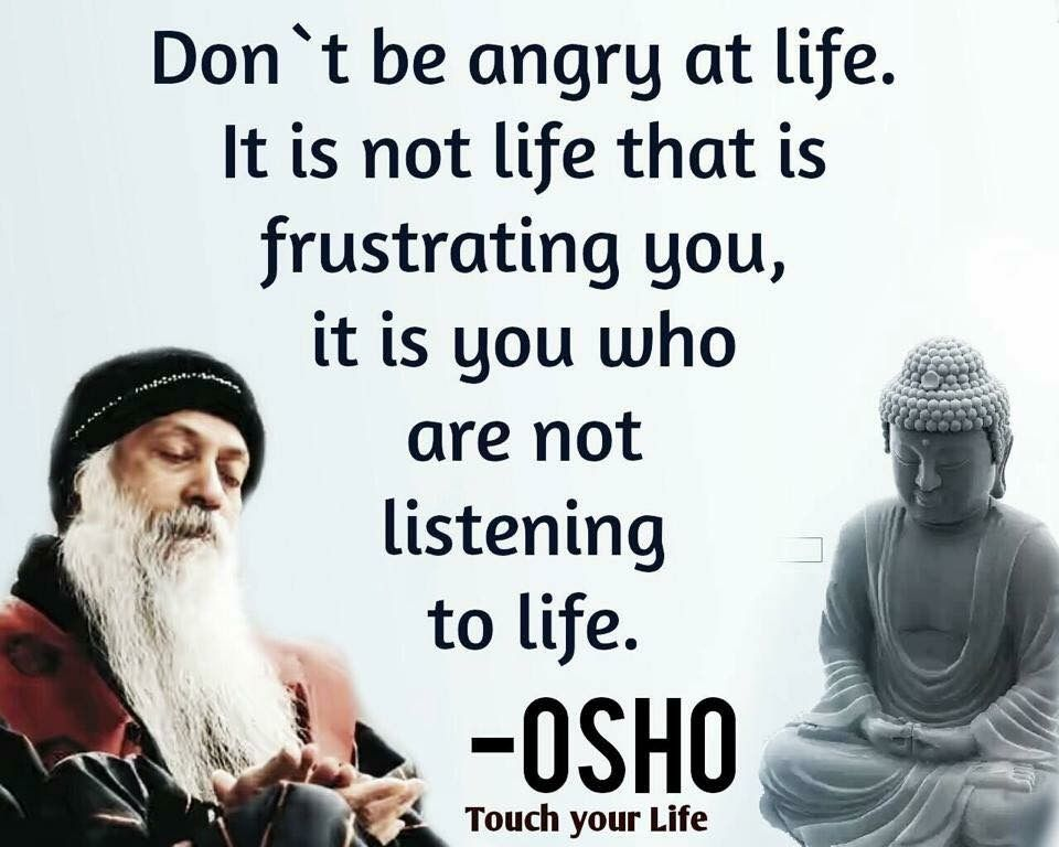 Life Quotes, Osho Quotes On