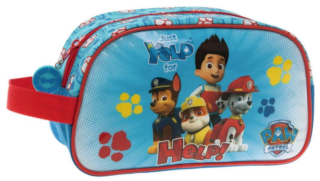Set neceser higiene comedor escuela de Paw Patrol La Patrulla Canina
