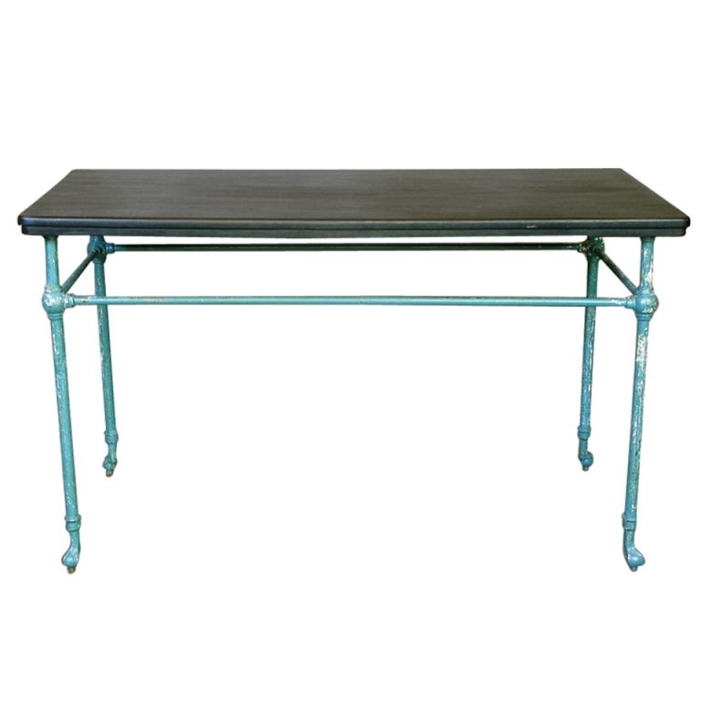 Pair Of Ball & Claw Feet Console Tables