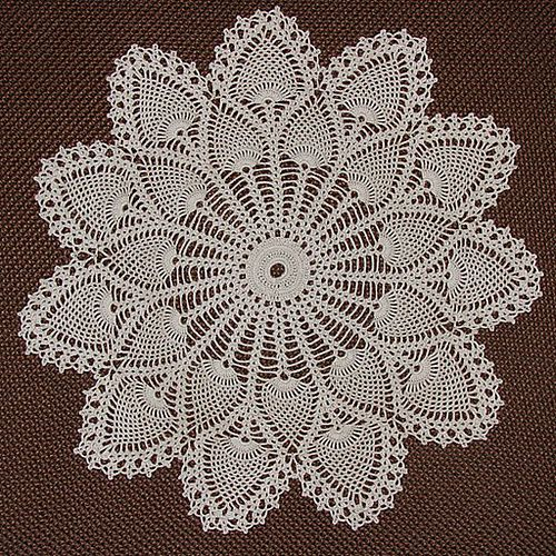 Ravelry: Pineapple Doily #7275 pattern by The Spool Cotton Company ...