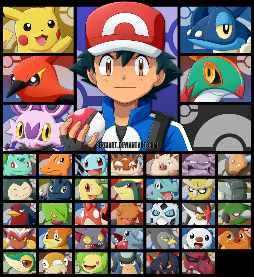 Pokemon Ash S Journey Pokemon Ash Pokemon Cute Pokemon Wallpaper