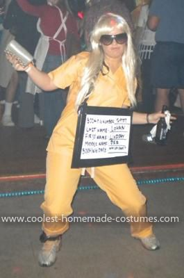 Coolest Lindsay Lohan Costume Blonde Halloween Costumes
