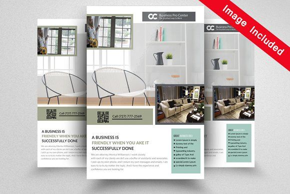 Interior Design Flyer Templates By Psd Templates On
