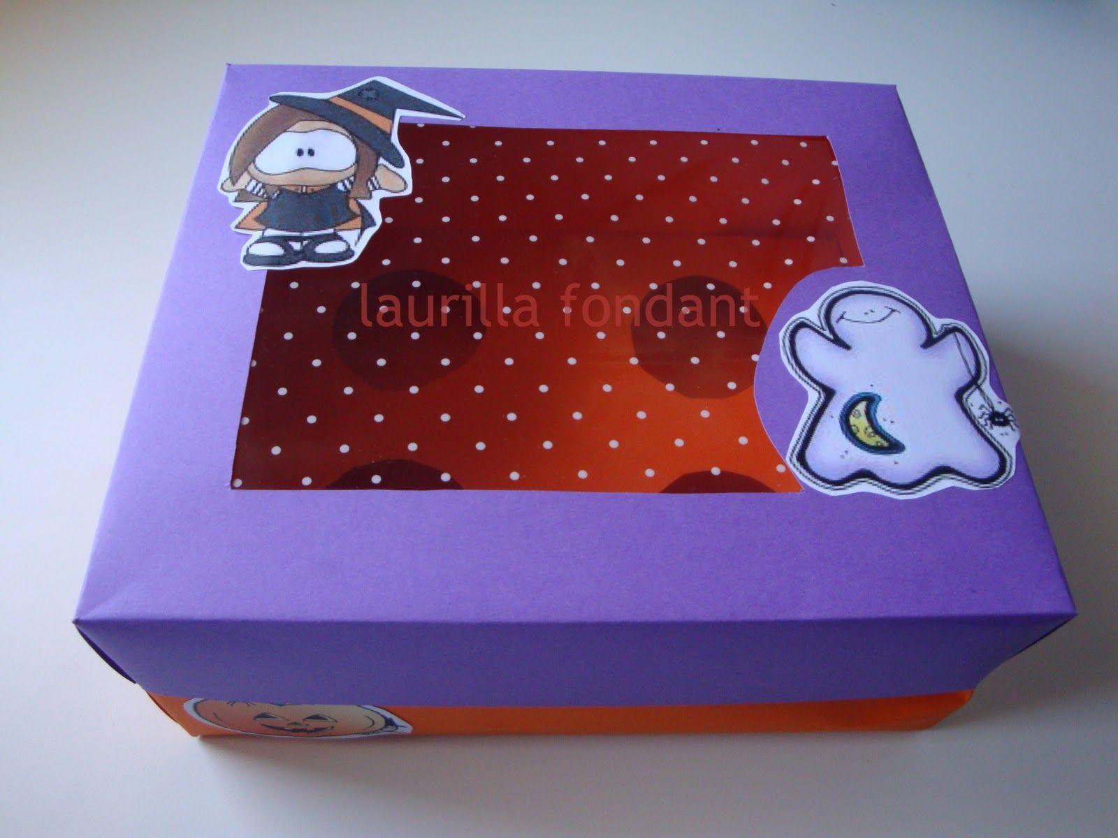 Cómo hacer cajas para magdalenas | PLANTILLAS cajas y envolturas ...
