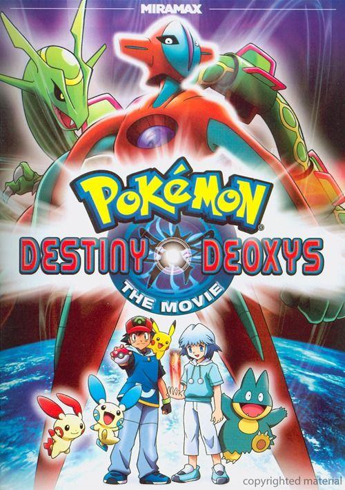 pokemon pictures of deoxys | Pokemon: Destiny Deoxys Movie
