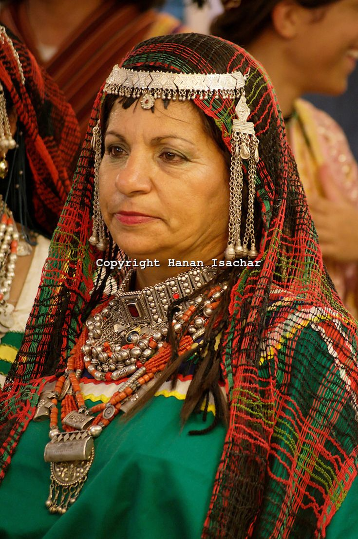 Yemenite Jewish Woman In Traditional Dress 169 Hanan