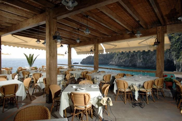 Ristorante Conca del Sogno, Nerano, Amalfi Coast